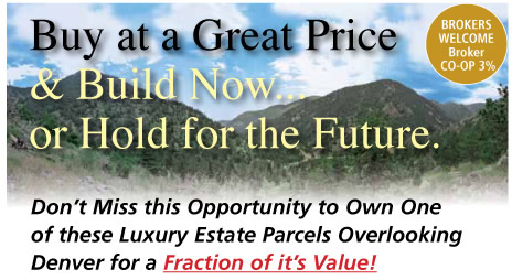 4 Prime 35 Acre Luxury Building Lots near Boulder, CO - AJ Karas Auctioneers