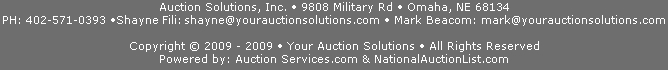 Your Auction Solutions