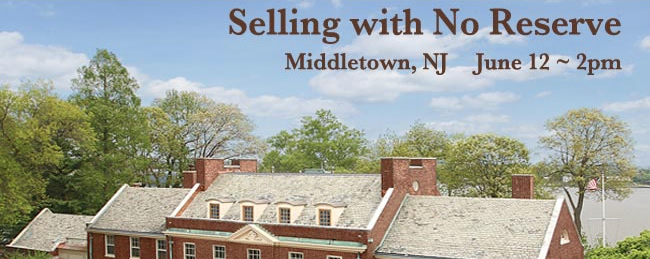 1916 Historic NJ Estate - Absolute – Selling with No Reserve