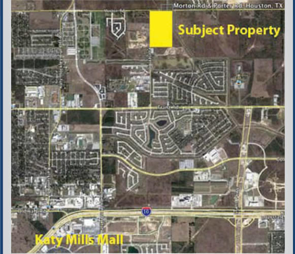 58+/- Acres of Property in Katy, TX