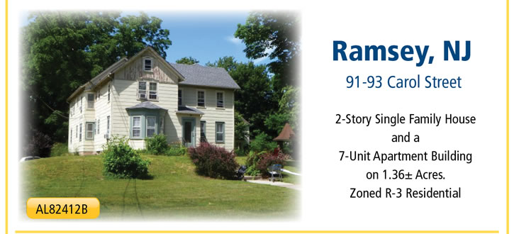 Sheriffs Sale | (2) Two-Dwelling NJ Properties