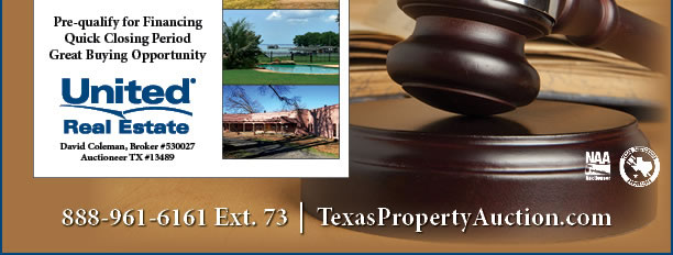 Texas Mega Multi-Property Auction