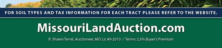 Multi-Farm Auction - Harrison & Mercer County, MO