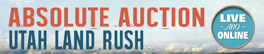Absolute Auction: Utah Land Rush