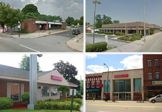 Absolute - Former Bank Buildings - IL, MD, MI, MO, SC, & VA