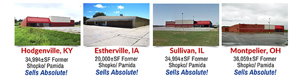 14 Commercial Assets in 9 States