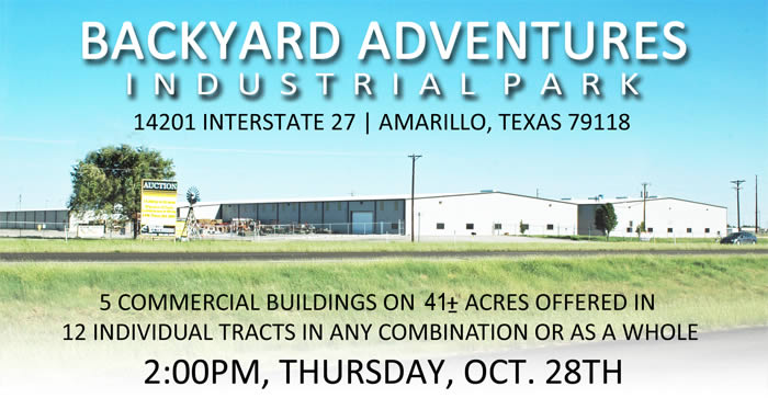 five commercial buildings totaling 250,000+/- on 41+/- acres-Amarillo, TX