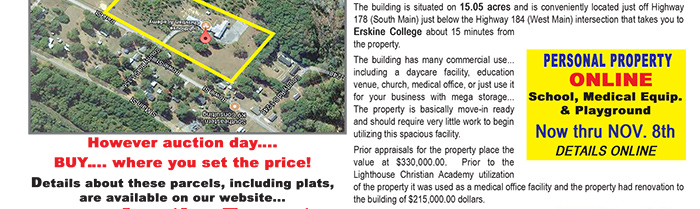 Commercial Building 15.05 Acres - SC