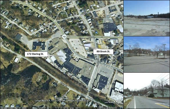 8+ Acres Industrial Land - Clinton, MA