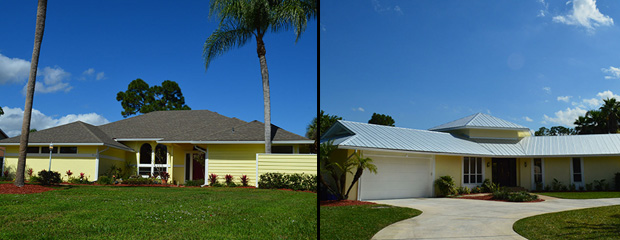 Waterfront, Pool Homes in Palm City, FL