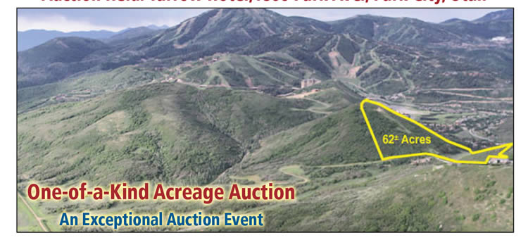 62+/- Acre Land Auction in Park City, UT style=