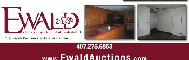 Auction: Commercial Building in Orlando, FL