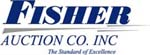 Fisher Auction logo