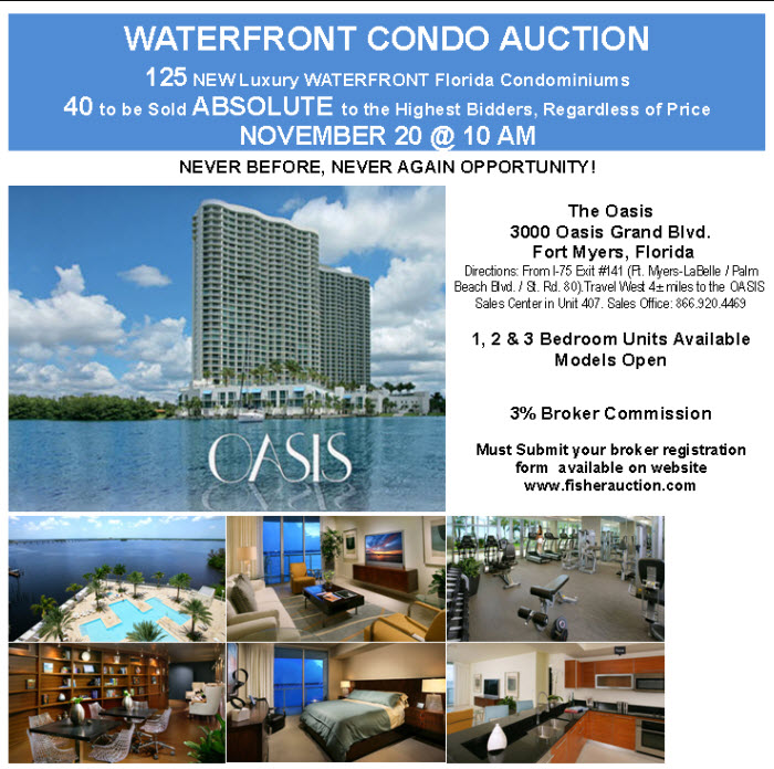 125 New FL Waterfront Condos - 40 Absolute