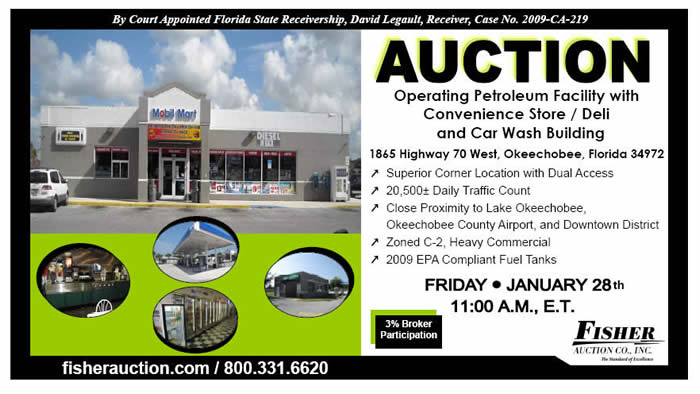 Auction-Operating FL Service Station