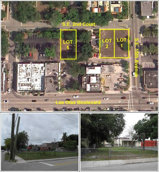 3 PRIME Development Lots - Fort Lauderdale