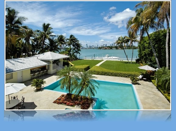 Magnificent Waterfront Estate on Star Island, Miami Beach, FL