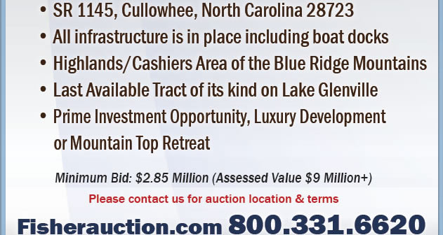 NC Developer Ordered - 125 Acres - 50 Mountain and Lake View Lots