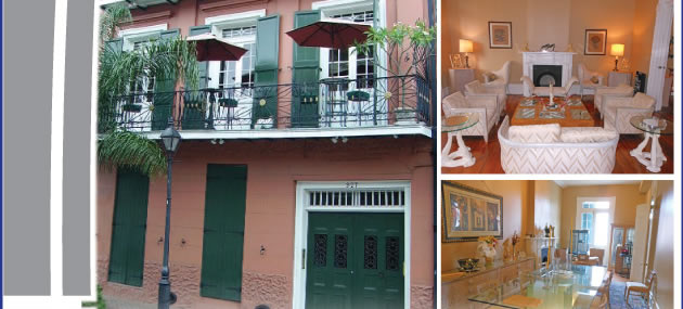 Prestigious Property in the heart of the French Quarter - LA