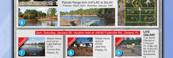 Florida Multi Property Auction