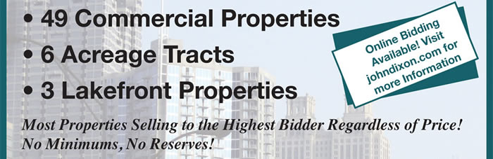 100+ Properties in 25 GA & 2 AL Counties