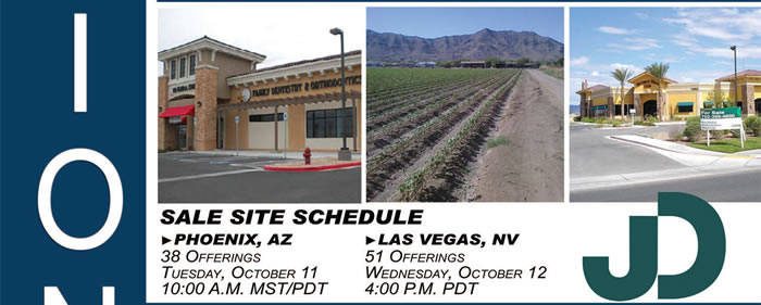 FDIC Auctions - 90+ Properties - AZ, CA and NV