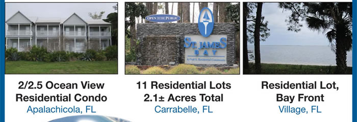 Absolute - 120 FL Properties, All sell regardless of Price!