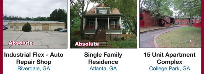 Absolute*Multi-Property Auction in AL, GA & NC