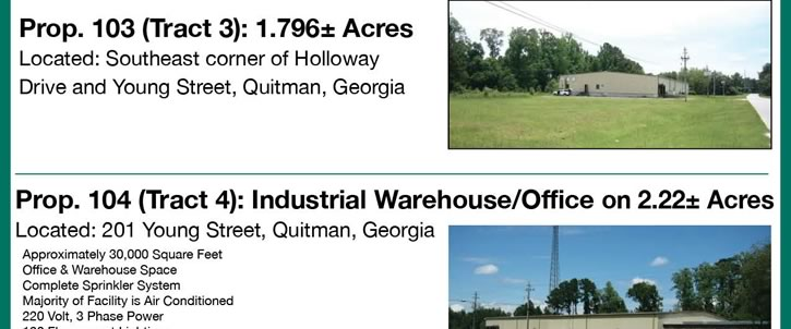 Industrial Properties in Georgia