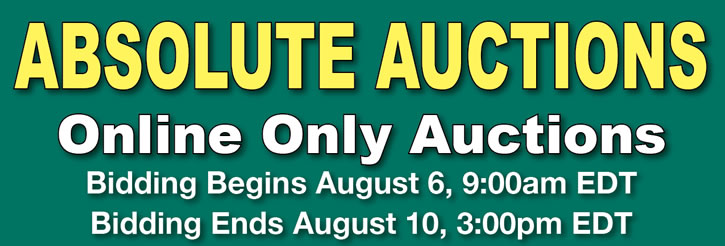 Absolute Online Auction: Real Estate in CO & IN