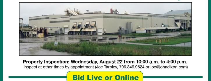 Big Industrial Real Estate Auction - KY & OR