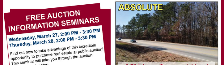 80+/- Bank-Owned Property Auction | AL, FL, GA