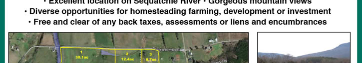 Absolute - 301+/- Acres of Farm & River Land | TN
