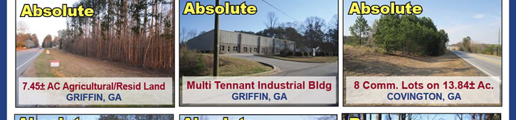 100+/- Real Estate Properties | GA & AL