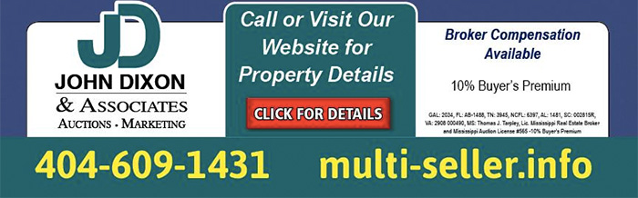 Multi-Seller Auction - 503+/- properties, 88+/- offerings