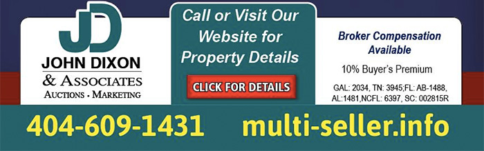MutiSeller Auction - 560 Properties, 165 Offerings - Many Sell ABSOLUTE!