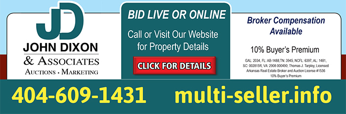 Multi-Seller Auction - 230 Properties in 12 States, 94 Offerings