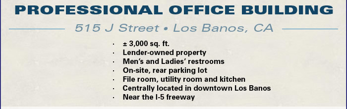 Lender-Owned Office Bldg in CA