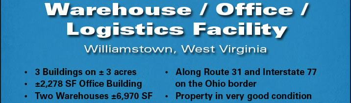 Warehouse/office/logistics facility along Ohio River