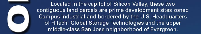 Prime Silicon Valley Industrial Land