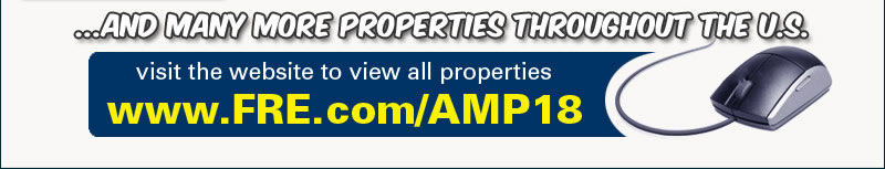 Properties located across the US must be sold