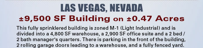 Live-Work Building near Las Vegas Strip