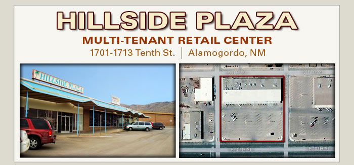 Bank-owned Retail Center in New Mexico