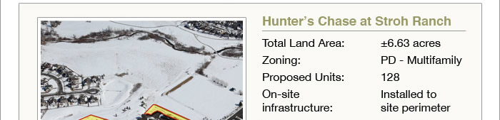 Proposed 128 multifamily units on 6.63 acres - CO