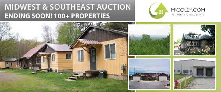 Auction Ending Soon: 100+ Bank Owned Properties