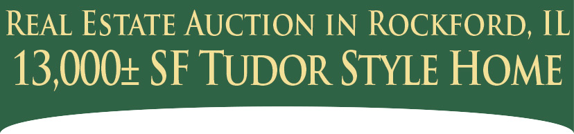 Oglesby Auctioneers - 13,000 SF Tudor Style Home Real Estate Auction