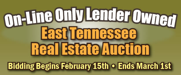 East TN - On-Line Only - Lender Owned