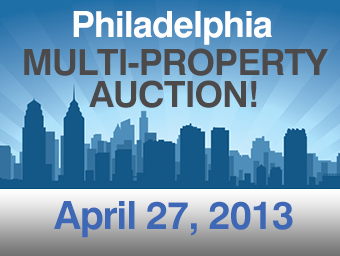 Multiple-Property Philadelphia-Area Auction!