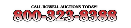 Rowell Auctions Moultrie, GA