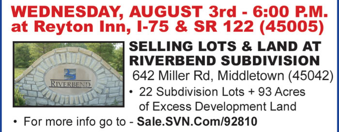 Absolute Subdivision Auctions - Dayton Area, OH
